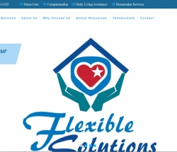 flexible solutions home care screenshot of website
